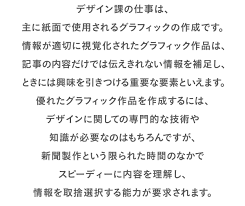 デザイン課の仕事って中日新聞chunichi Web