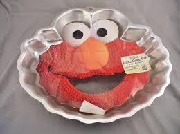 Elmo Cake Pan Sesame Street Muppets Wilton No 2105 3461 Etsy