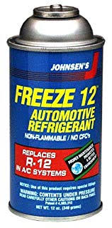 Freeze 12 Refrigerant R 12 Ac Replacement 12 Oz Can