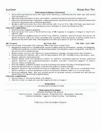 Sample Curriculum Vitae Hospitality Best Of Resume For Hospitality