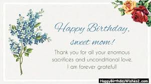 Best 40 Happy Birthday Wishes Messages Quotes For Mother Mom Gorgeous Birthday Quotes For Mom