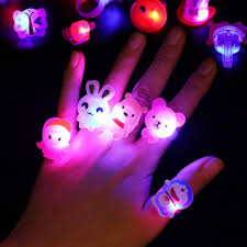 Glow Light Toys 2019 New Fluorescent Ring Light Glow In The Dark Kids Toy