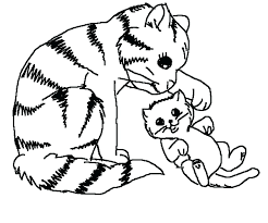 fabulous coloring pages of kittens n8919 free printable kitten coloring pages kittens better coloring pages kitties