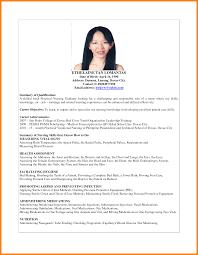 Brilliant Ideas Of Free Sample Resume For Nurses In The Philippines