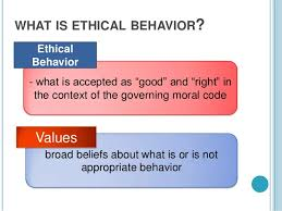 value and ethics of public responsibility