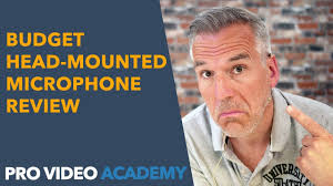Budget <b>Head</b>-<b>Mounted</b> Microphone Review - YouTube