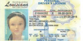 For Backs Licenses Real Press-herald Louisiana Senate Minden Id-compliant