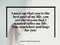 Love Quotes For My Son New I Love You Messages For Son Events Greetings