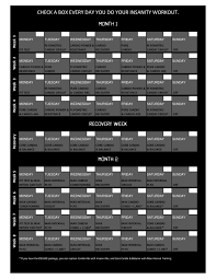 printable insanity calendar awesome insanity workout calendar yahoo search results