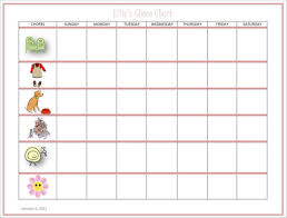 Free 9 Kids Chore Schedule Templates In Pdf Word