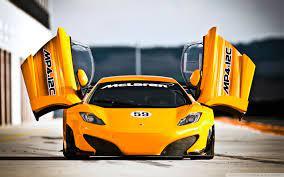 McLaren MP4 12C Doors Ultra HD Desktop ...