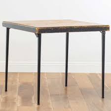 Folding Wood Top Craft/Card Table W/ Cut Out | Loveseat Vintage