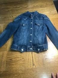 Details About Stetson Womens Large Western Denim Blue Jean Jacket