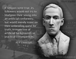 h p lovecraft if religion were true