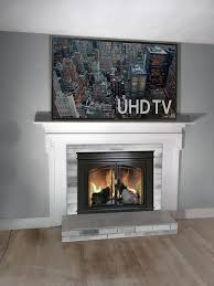 tv above fireplace drop mount wire suggestions fireplace mockup jpg