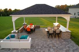 covered outdoor kitchen plans kitchen decor design ideas options for an affordable