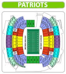 64 Unmistakable Gillete Stadium Seating Chart
