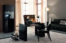 Home Office Black Desk Via Compact L Desk 60 Home Office Black