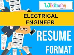 Resume Electrical Engineer Resume Sample Resume Resume