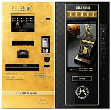 Gold Vending Machine Gorgeous Aesthetically GoldToGo Has The Edge With An Actual Goldplated
