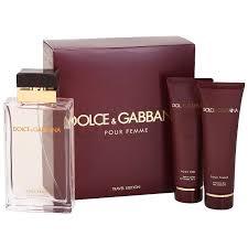 dolce gabbana pour femme gift set