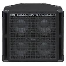 Amazon.com: Gallien-Krueger 410RBH/8 Bass Guitar Cabinet (800 Watt ...