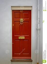 house door clipart. Red Front Door House Clipart