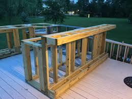 diy patio bar plans. Brilliant Bar How To Build A Cushioned Patio Bar Plans And Diy Patio Bar Plans