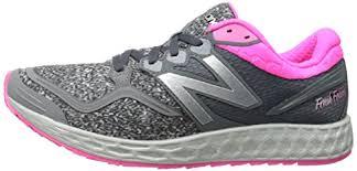 new balance zante womens. new balance women\u0027s w1980 fresh foam zante running shoe, grey/pink, 8.5 b us womens