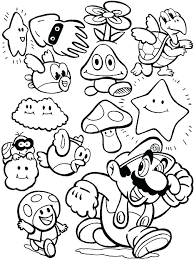 Mario Bros Coloring Page Brothers Coloring Pages Free Brothers