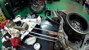 engine modenas kriss installation part 1