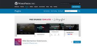 Free Templates Rife Elementor Extensions Apollo13themes