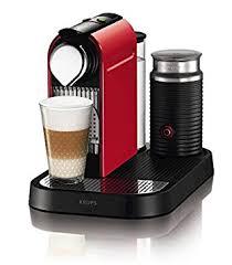 coffee machines nespresso. Beautiful Coffee Nespresso Citiz And Milk Coffee Machine Fire Engine Red By Krups On Machines O