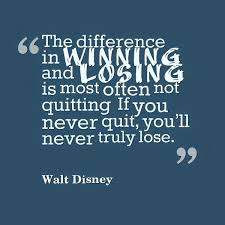 Quotes About Winning And Losing Extraordinary The Difference In Winning And Losing Legends Quotes