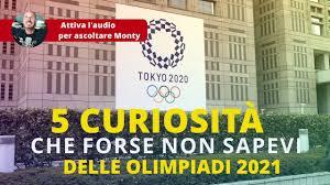 5 curiosità che forse non sapevi sulle Olimpiadi 2021 - YouTube