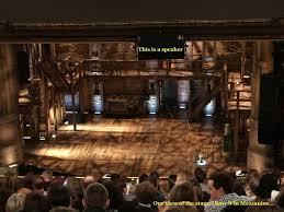 Front Row Of The Mezzanine View Picture Of Cibc Theatre