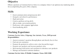 Resume Objective Food Service Dovoz