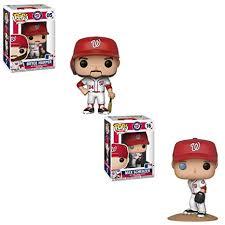 Player Mlb And Pop - Bundle Figure Nationals Funko Pop Washington Baseball Harper Max Bryce 2 Scherzer Action Toy