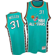 Mitchell and Ness Indiana Pacers Swingman Light Blue Reggie Miller 1996 All  Star Throwback Jersey - Men's