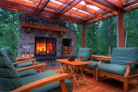 gorgeous outdoor deck fireplace fireplaces firepits photo gallery