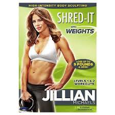 with just about every home workout dvd you need and