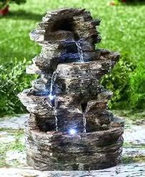 solar outdoor water fountain outdoor water fountains with lights lighted water fountain led indoor outdoor stacked solar outdoor water fountain