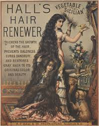 hall s vegetable sicilian hair renewer adver