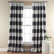 interior design decorative white gray chainlink geometric curtain
