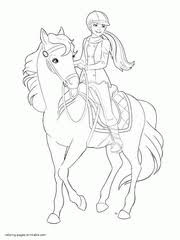 Small Picture Barbie Coloring Pages 300 Free Sheets For Girls
