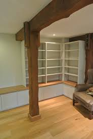 Painted Living Room Inwood Design Bespoke Wooden Furniture Low Level Painted
