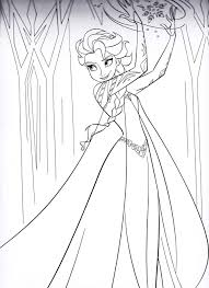 Small Picture Coloring Pages Disney Frozen Coloring Pages Walt Disney