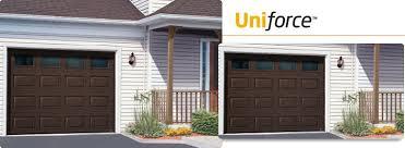 brown garage doorsThe Uniforce  Residential Garage Doors Manufacturers  Garaga