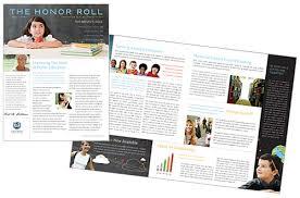 Education Newsletter Templates Education Newsletter Catalogs Newsletter Imagemedia Com
