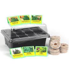 kitchen herb garden seed starter kit
